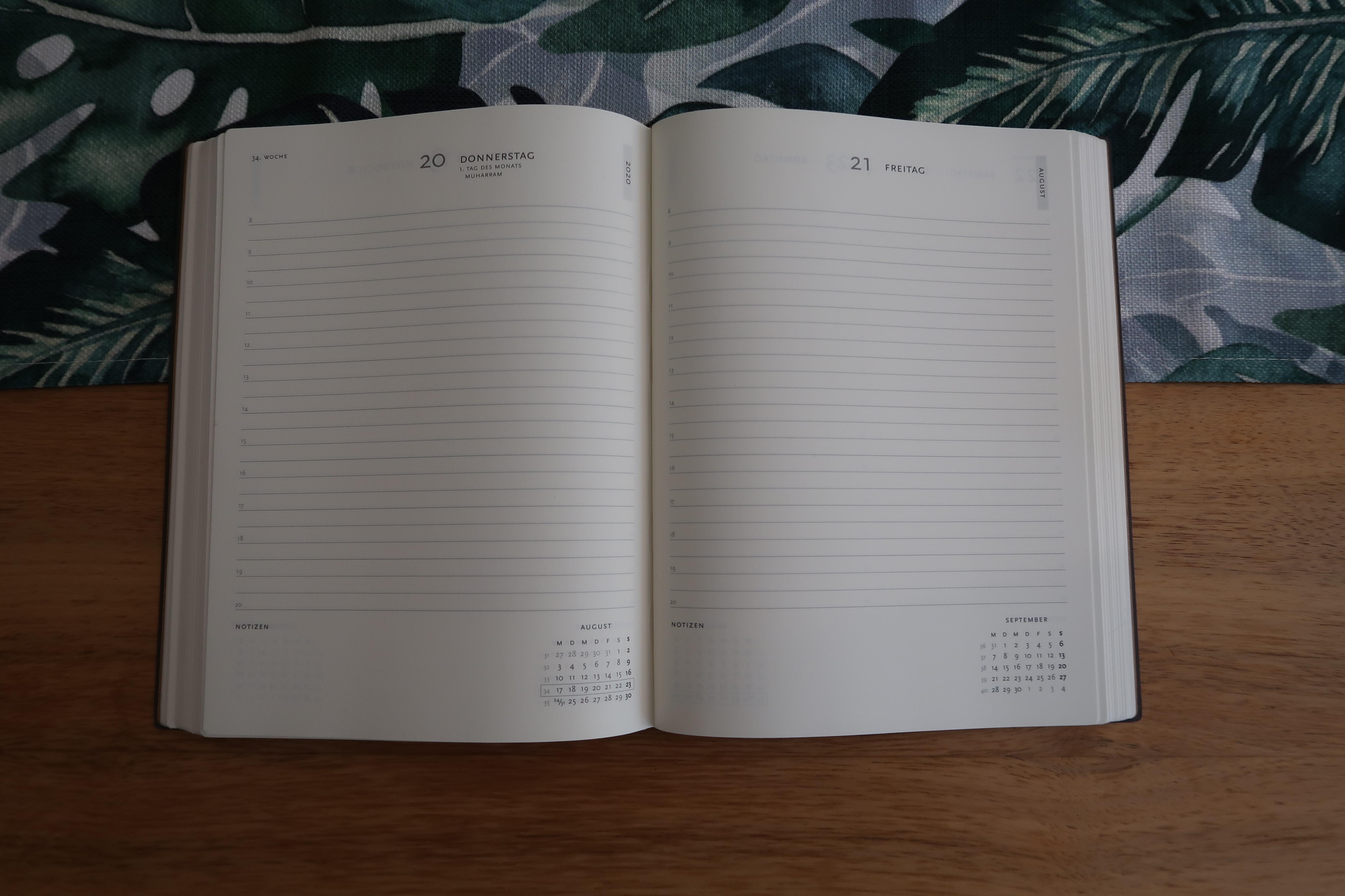 DIN A5 Der Weg Kalender 2019 1 Woche auf 2 Seiten